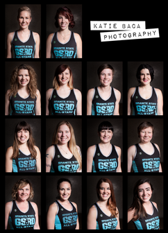 Roller Derby Team Headshots
